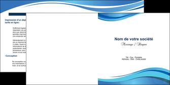 modele en ligne depliant 2 volets  4 pages  texture contexture structure MLGI25021