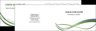 Commander Carte de visite  Carte commerciale de fidélité papier publicitaire et imprimerie Carte de visite Double - Paysage