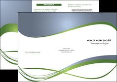 personnaliser modele de depliant 3 volets  6 pages  texture contexture structure MIF25195