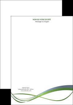 Connu Modele Tête de lettre à personnaliser - Exemple de Papier à lettre VV64