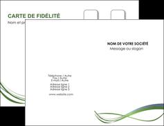 Impression Carte de visite pelliculage mat ou brillant  Carte commerciale de fidélité devis d'imprimeur publicitaire professionnel Carte de visite Double - Portrait