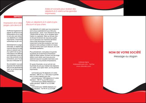 imprimerie depliant 3 volets  6 pages  texture contexture structure MLGI25223