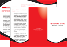 imprimerie depliant 3 volets  6 pages  texture contexture structure MIF25223