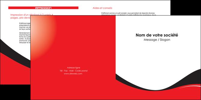 impression depliant 2 volets  4 pages  texture contexture structure MLGI25229