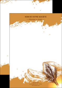 imprimerie flyers boulangerie boulangerie boulange boulanger MLGI25331