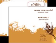 personnaliser maquette carte de visite boulangerie boulangerie boulange boulanger MLGI25337