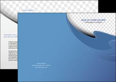 modele en ligne depliant 2 volets  4 pages  texture contexture structure MLGI25351