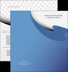 imprimer depliant 2 volets  4 pages  texture contexture structure MLGI25353