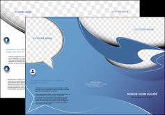 personnaliser maquette depliant 3 volets  6 pages  texture contexture structure MLGI25359