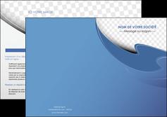 modele depliant 2 volets  4 pages  texture contexture structure MLGI25377