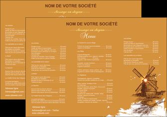 maquette en ligne a personnaliser set de table boulangerie boulangerie boulange boulanger MIF25379
