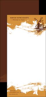 impression flyers boulangerie boulangerie boulange boulanger MIF25387