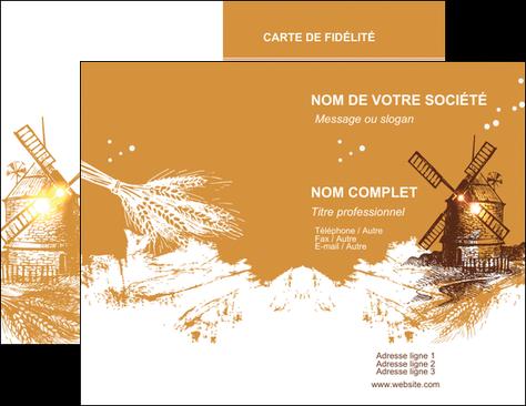 faire modele a imprimer carte de visite boulangerie boulangerie boulange boulanger MIF25399