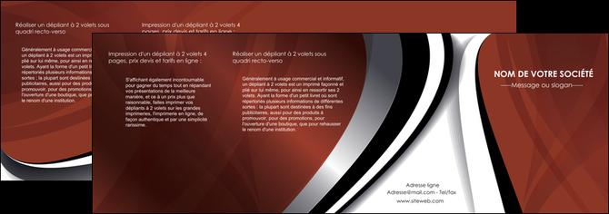 imprimer depliant 4 volets  8 pages  textures contextures structures MLGI25495