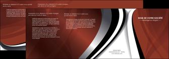 faire depliant 4 volets  8 pages  textures contextures structures MLGI25497