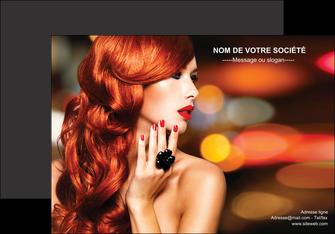 exemple affiche centre esthetique  coiffure coiffeur coiffeuse MLGI25505