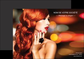 faire affiche centre esthetique  coiffure coiffeur coiffeuse MLIG25507