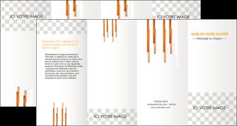 modele depliant 4 volets  8 pages  textures contextures structures MLGI25547