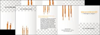 imprimerie depliant 4 volets  8 pages  textures contextures structures MLGI25549