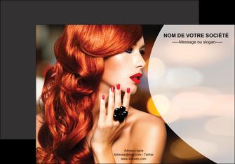 imprimerie affiche centre esthetique  coiffure coiffeur coiffeuse MIF25563