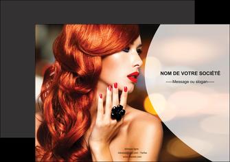 realiser affiche centre esthetique  coiffure coiffeur coiffeuse MIF25569