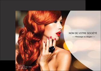 cree affiche centre esthetique  coiffure coiffeur coiffeuse MIF25571