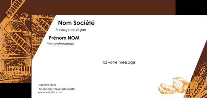 modele carte de correspondance boulangerie boulangerie boulanger boulange MLGI25589