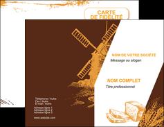 personnaliser modele de carte de visite boulangerie boulangerie boulanger boulange MLGI25599