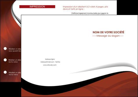 modele en ligne depliant 2 volets  4 pages  texture contexture structure MLGI25613