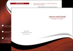 modele en ligne depliant 2 volets  4 pages  texture contexture structure MLIG25613