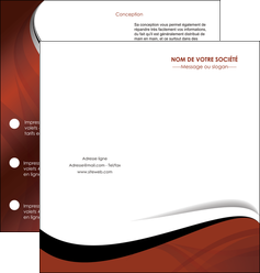 imprimerie depliant 2 volets  4 pages  texture contexture structure MIF25617
