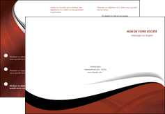 faire depliant 3 volets  6 pages  texture contexture structure MIF25623