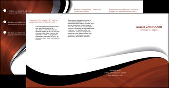 creation graphique en ligne depliant 4 volets  8 pages  texture contexture structure MIF25641