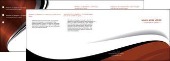personnaliser maquette depliant 4 volets  8 pages  texture contexture structure MIF25645
