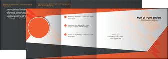realiser depliant 4 volets  8 pages  texture contexture structure MLGI25647