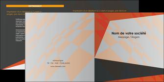 faire depliant 2 volets  4 pages  texture contexture structure MLGI25665
