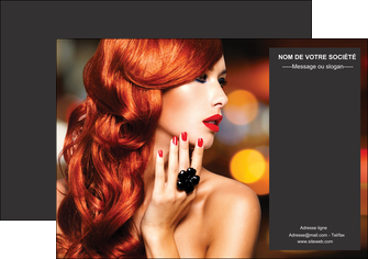 modele en ligne flyers centre esthetique  coiffure coiffeur coiffeuse MIF25689