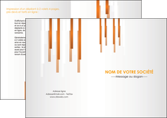 creation graphique en ligne depliant 2 volets  4 pages  texture contexture structure MIF25701