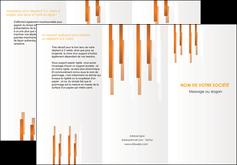 modele en ligne depliant 3 volets  6 pages  texture contexture structure MLIG25709
