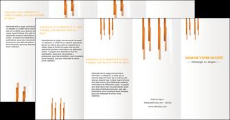 faire modele a imprimer depliant 4 volets  8 pages  texture contexture structure MIF25727