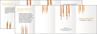 modele en ligne depliant 4 volets  8 pages  texture contexture structure MIF25729