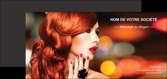 imprimerie flyers centre esthetique  coiffure coiffeur coiffeuse MIF25735