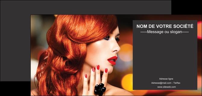 impression flyers centre esthetique  coiffure coiffeur coiffeuse MLGI25737