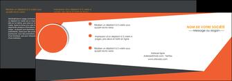 maquette en ligne a personnaliser depliant 4 volets  8 pages  texture contexture structure MIF25741
