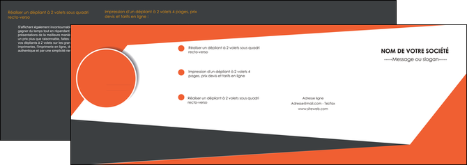 creer modele en ligne depliant 4 volets  8 pages  texture contexture structure MLGI25743
