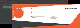 creer modele en ligne depliant 4 volets  8 pages  texture contexture structure MIF25743