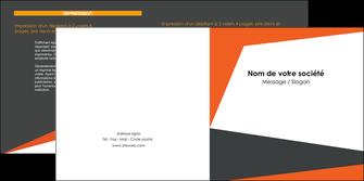 personnaliser maquette depliant 2 volets  4 pages  texture contexture structure MIF25761