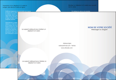 faire modele a imprimer depliant 3 volets  6 pages  texture contexture structure MLGI25897