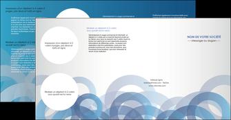 modele en ligne depliant 4 volets  8 pages  texture contexture structure MLGI25915