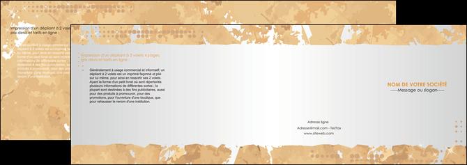 faire modele a imprimer depliant 4 volets  8 pages  texture structure contexture MLGI25919